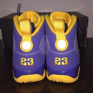 "premium selection af0bf 6a489 Jordan Shoes - Jordan 9 ""Calvin Bailey"" size 9.5"